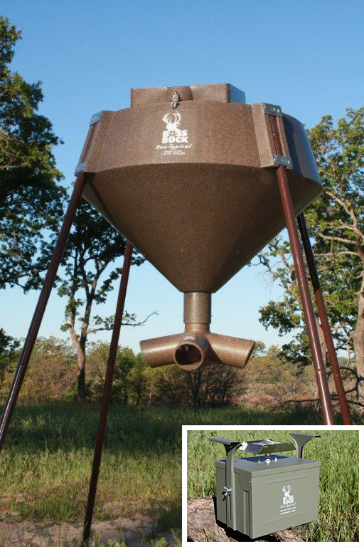 Boss Buck 600 lb Feeders: Protein Single